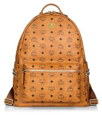 MCM Medium Stark Printed Backpack
