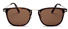 Tom Ford Men's Beau Square Sunglasses, 53mm