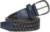 Andersons ANDERSON'S Leather Woven Belt