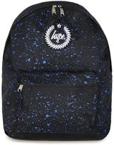 Hype Navy Paint Speckle Print Backpack*