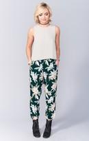 MUMU Ali Pants ~ Forest Florist Cloud