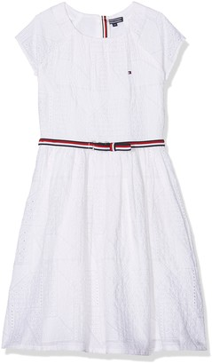 Tommy Hilfiger Girl's AME Charming Shiffley Dress S/s