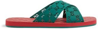 Gucci Men's GG slide sandal