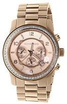 Michael Kors Micheal Kors Rose Gold Tone 45 mm Steel With Custom Set Diamonds 2.0 Ct Watch