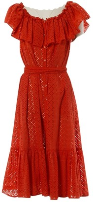 Isa Arfen Red Lace Dresses
