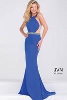 Jovani Jersey High Neck Fitted Dress JVN48492