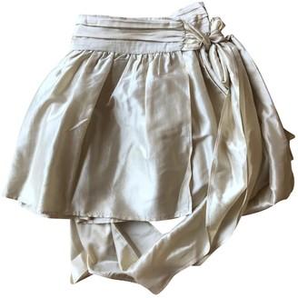 Stella McCartney Stella Mc Cartney Ecru Silk Skirt for Women