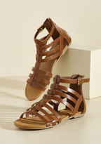 ModCloth Sunshine Dynamic Sandal in Cocoa in 11