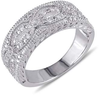 Concerto Diamond and Sterling Silver Lacy Ring