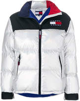 Tommy Jeans iridescent puffer jacket
