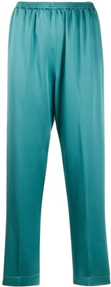 Forte Forte Satin-Crepe Trousers