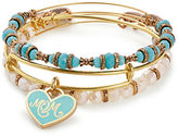 Alex and Ani Color Infusion Mom Charm Bracelet