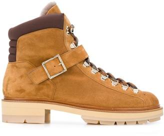 Santoni Buckle Fastened Boots