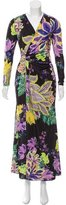 Roberto Cavalli Embellished Floral Print Dress w/ Tags