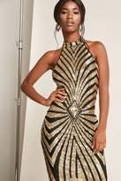 Forever 21 Metallic Sequin Bodycon Dress