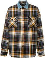 Fear Of God contrast collar plaid shirt