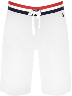Ralph Lauren Jersey Lounge Shorts White