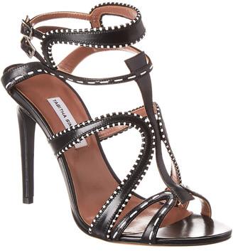 Tabitha Simmons Jasmine Metallic Leather Sandal