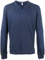 Cycle distressed sweatshirt - men - Cotton/Polyamide - L