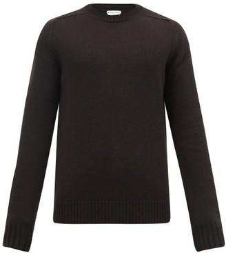 Bottega Veneta Crew-neck Wool Sweater - Brown