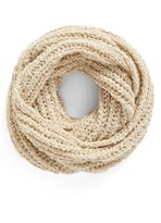 BP Bouclé Knit Infinity Scarf