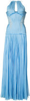 J. Mendel pleated gown - women - Silk - 0