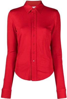 Bottega Veneta Button Front Slim Shirt