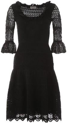 Alexander McQueen Lace Midi Dress
