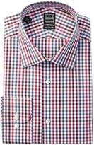 Ike Behar Long Sleeve Check Dress Shirt