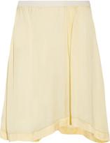 Etoile Isabel Marant Volga eyelet-trimmed satin skirt