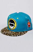 FM Fly Mutant The Blue Cheetah Snapback Hat