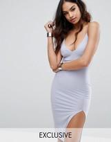 Club L Midi Cami Dress with Split