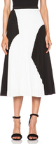 Proenza Schouler Pleated Poly Skirt