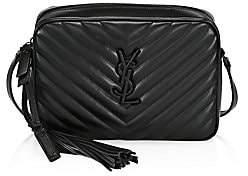 Saint Laurent Women's Lou Matelassé Leather Camera Bag