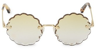 Chloé 53MM Round Sunglasses