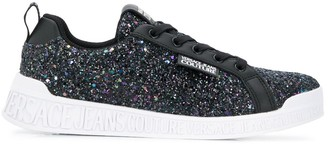 Versace Glittered Sneakers