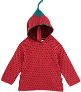 Oeuf Strawberry Cotton Hoodie