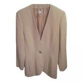 Celine Beige Wool Jacket