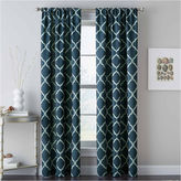 Asstd National Brand Casbah Trellis Rod-Pocket Curtain Panel