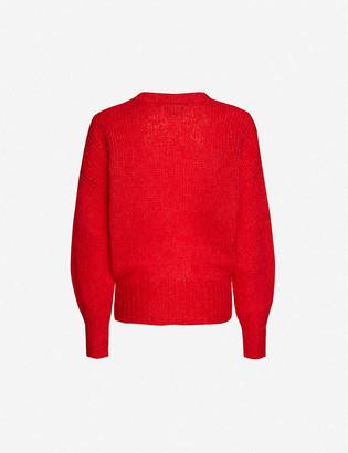 Isabel Marant Estelle relaxed-fit mohair-blend jumper