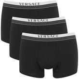 Versace Collection Versace 3 Pack Trunk Boxers Black
