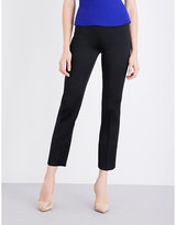 Roland Mouret Skinny cropped satin trousers
