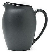 Noritake Colorwave Graphite Coupe Matte Stoneware Pitcher