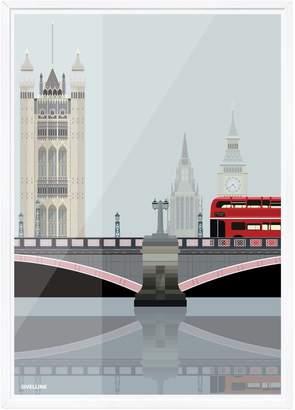 Westminster Sivellink Lambeth Bridge & The Towers of
