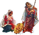JCPenney Roman Holy Family Yard Art