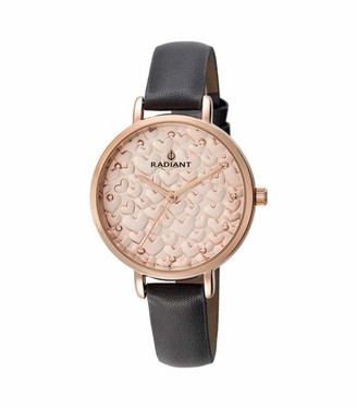 Radiant Women's Analogue Quartz Watch with Leather Strap RA431601