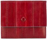 Corto Moltedo card bi-fold wallet - women - Eel Skin - One Size