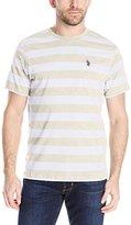 U.S. Polo Assn. Men's Stripe Crew Neck T-Shirt