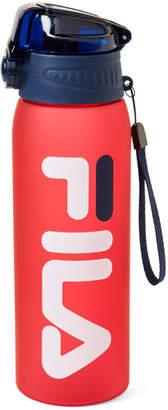 Fila Red Logo Press Water Bottle