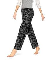Hue Plus Wavy Script Pants